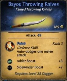 Bayou Throwing Knives-0