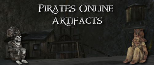 Pirates Online Artifacts