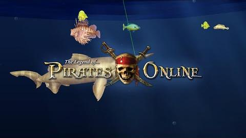 The Legend of Pirates Online- Developer Preview - Fishing!