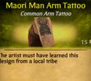 Maori Man Arm Tattoo