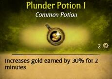 PlunderPotion