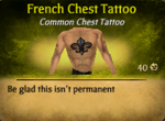 French Chest Tat