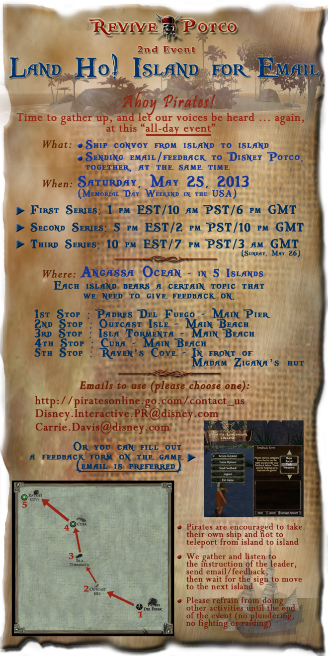 RP 2nd Event flyer