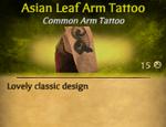 LeafAsianArmTat