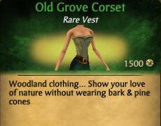 F Old Grove Corset