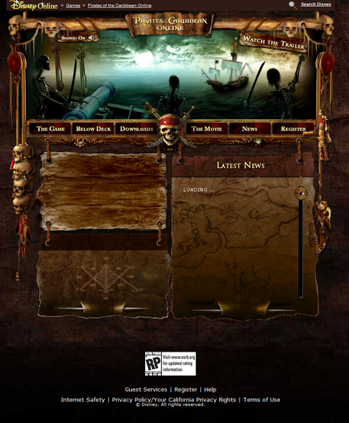 Mid 2006 Site Version