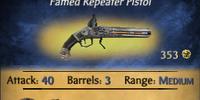 Silver Repeater Pistol