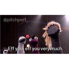 The Sockapella sock puppets