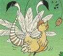 Pájaro mágico de Perezoso