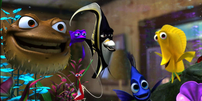 Tank gang pixar wiki fandom powered by wikia for Disney fish names