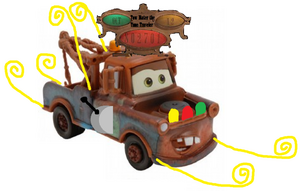 Tow Mater the Time Traveler