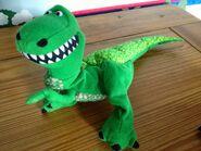 Burger King Rex puppet