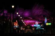 Cars Land Night 1