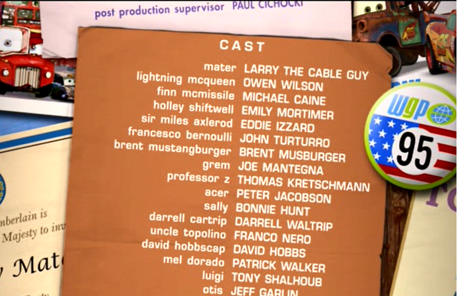 File:The final credits showing Mater as first character..png
