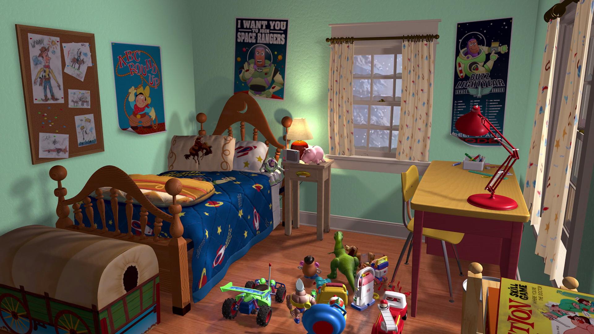 Image AndysNewRoomjpg Pixar Wiki FANDOM Powered By