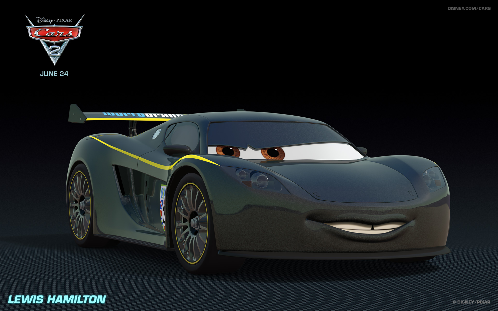 Lewis Hamilton Car  Pixar Wiki  Fandom powered by Wikia