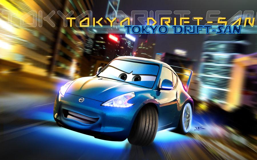 Image Cars Tokyo Drift San By Danyboz Jpg Pixar Wiki Fandom