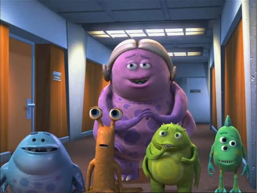 Ms. Nesbit   Pixar Wiki   Fandom powered by Wikia Monsters University Baby Sully