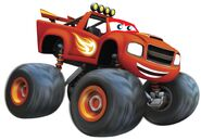 What Blaze would look like as a Disney Cars character