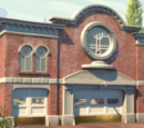 Radiator Springs Courthouse & Fire Department