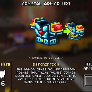 Medium Crystal Armor.