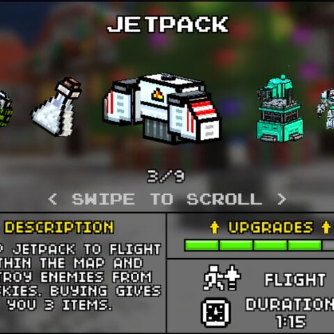 The Jetpack in the old Armory (Pre-10.2.0).