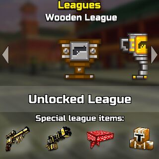 The wooden league.
