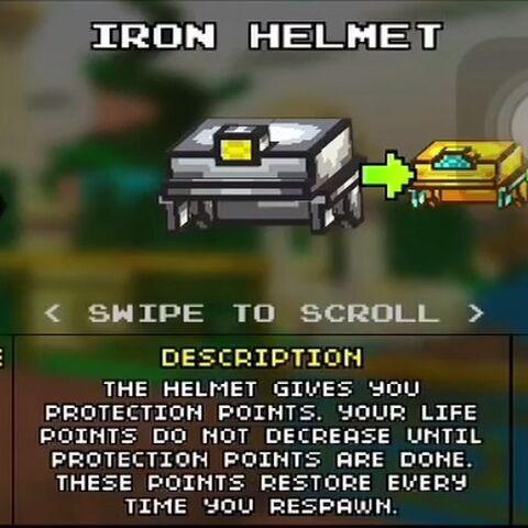 Light Iron Helmet.
