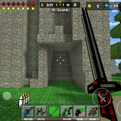 A tunnel, recently implemented into the map.