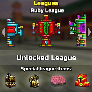 The ruby league.