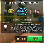 Crystalhelmet