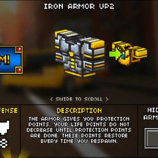 Heavy Iron Armor.