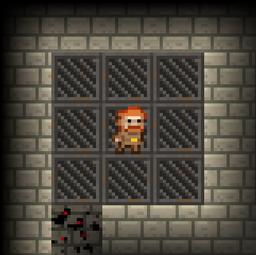Prison stage Storage