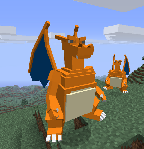 File:Charizard model.png