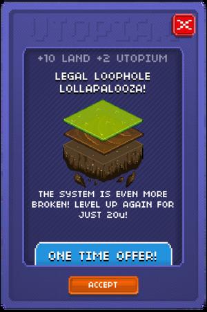 Legal Loophole Lollapalooza