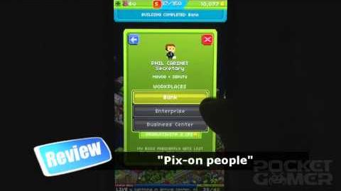 Pixel People iPhone Game Review - PocketGamer.co