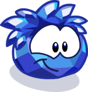 Merry Walrus Parade Blue Crystal Puffle