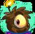 Brown Alien Puffle