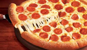 Little Caesers Stuffed Crust pizza