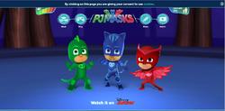 PJ Masks website as of August 20, 2016