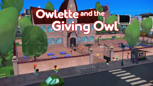 Owlette and the Giving Owl Card