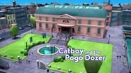 Catboy and the Pogo Dozer Card