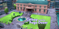 Catboy and the Pogo Dozer
