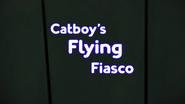 Catboys Flying Fiasco Card