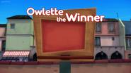 Owlette the Winner Card