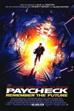 Paycheck filmposter