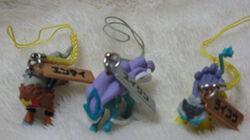 Trio-netsukemascot