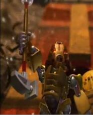 Hewkii in the movie BIONICLE Mask of Light