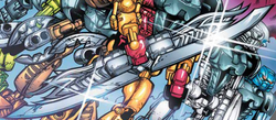 Comic Magma Swords