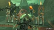 Animation Visorak Attacking Coliseum
